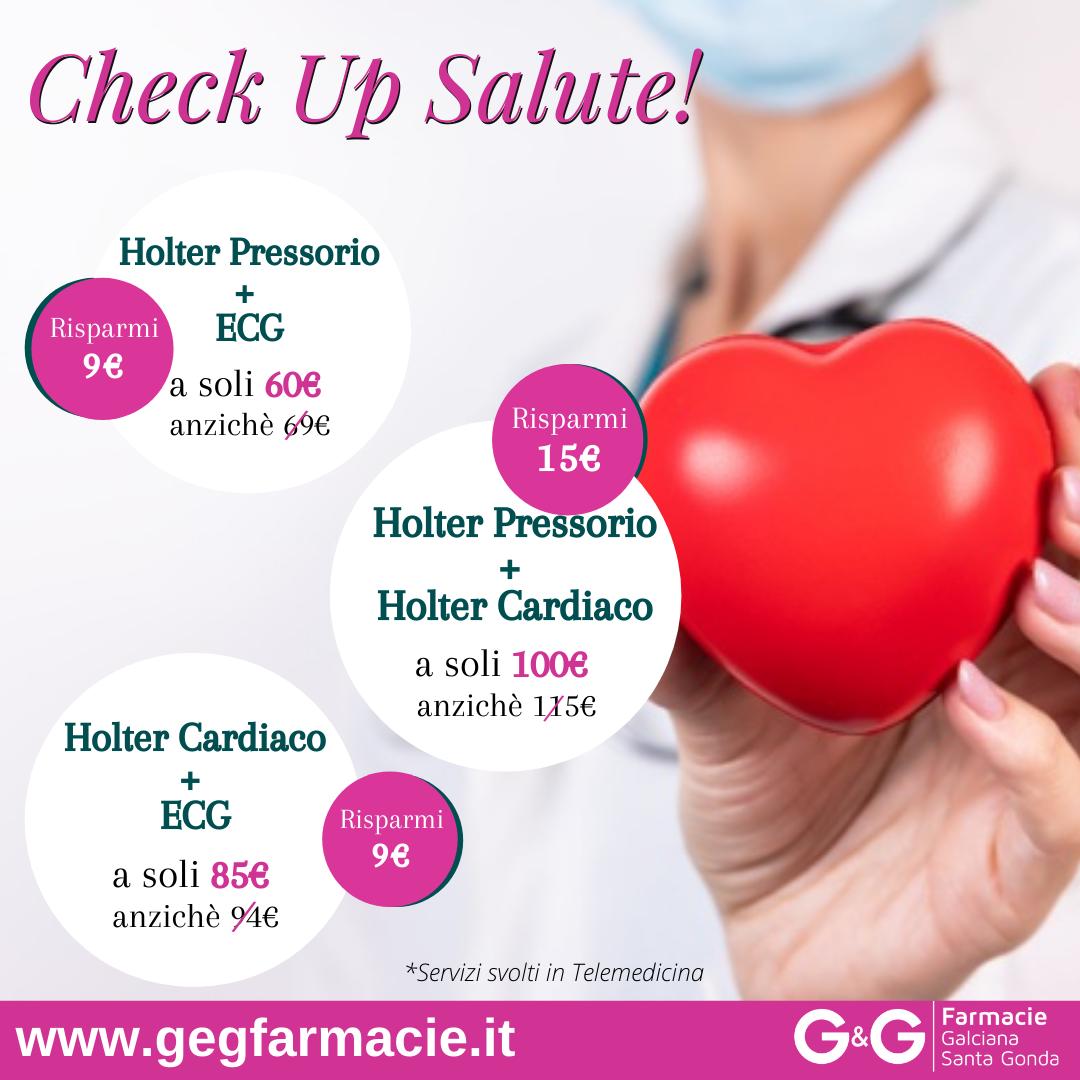 Check Up Salute da G&G Farmacie